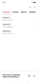 Oppo Find X2 Lite - Photos, vidéos, musique - Ecouter de la musique - Étape 5