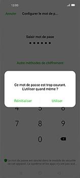 Oppo Find X2 Neo - Sécuriser votre mobile - Activer le code de verrouillage - Étape 8