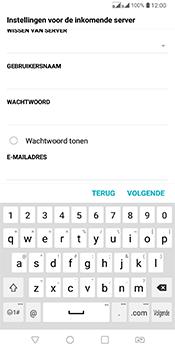 LG Q7 - E-mail - Account instellen (POP3 zonder SMTP-verificatie) - Stap 12