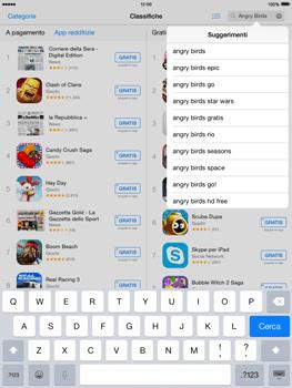 Apple iPad mini iOS 8 - Applicazioni - Installazione delle applicazioni - Fase 12