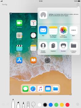 Apple iPad Pro 9.7 inch - iOS 11 - Bildschirmfotos erstellen und sofort bearbeiten - 8 / 8