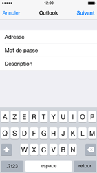 Apple iPhone 5s - E-mail - 032c. Email wizard - Outlook - Étape 8