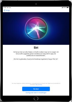 Apple ipad-9-7-inch-6th-generation-model-a1954-ios-12 - Instellingen aanpassen - Activeer het toestel en herstel jouw iCloud-data - Stap 26