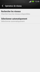 HTC One - Réseau - Sélection manuelle du réseau - Étape 6