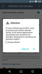 Sony Xperia XZ - Internet - activer ou désactiver - Étape 6