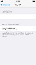 Apple iPhone SE - iOS 11 - E-mail - Account instellen (IMAP met SMTP-verificatie) - Stap 19
