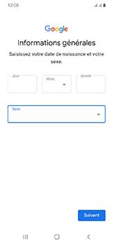 Samsung Galaxy A20e - Applications - Créer un compte - Étape 10