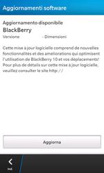 BlackBerry Z10 - Software - Installazione degli aggiornamenti software - Fase 6