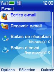 Nokia 6233 - E-mail - envoi d