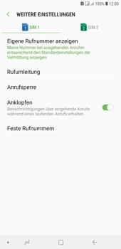 Samsung Galaxy J4+ - Anrufe - Rufumleitungen setzen und löschen - Schritt 8