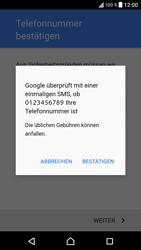 Sony Xperia XZ - Android Nougat - Apps - Konto anlegen und einrichten - Schritt 9