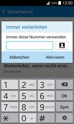 Samsung Galaxy J1 - Anrufe - Rufumleitungen setzen und löschen - 11 / 13
