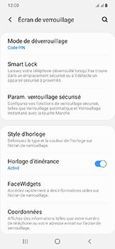 Samsung Galaxy A20e - Sécuriser votre mobile - Activer le code de verrouillage - Étape 13