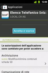 Alcatel OT-983 - Applicazioni - Installazione delle applicazioni - Fase 9