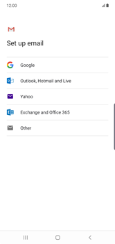Samsung Galaxy Note 10 Plus 5G - E-mail - manual configuration - Step 8