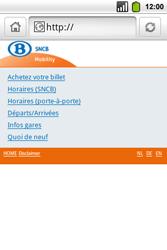Alcatel OT-991 Smart - Internet - Navigation sur Internet - Étape 11