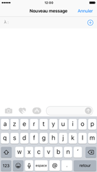 Apple iPhone 6 iOS 10 - iOS features - Envoyer un iMessage - Étape 8