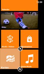 Nokia Lumia 800 / Lumia 900 - Startanleitung - Personalisieren der Startseite - Schritt 9