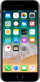 Apple iPhone X - Applications - Setting up the application store - Step 1