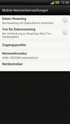 HTC Z520e One S - Ausland - Im Ausland surfen – Datenroaming - Schritt 7