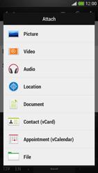 HTC One Mini - Email - Sending an email message - Step 11