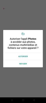 Oppo A72 - Photos, vidéos, musique - Créer une vidéo - Étape 15