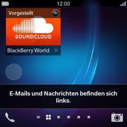 BlackBerry Q5 - Apps - Konto anlegen und einrichten - 1 / 1