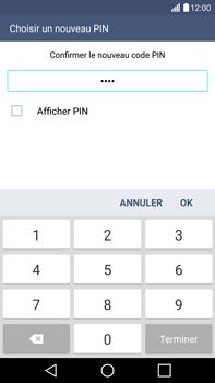 LG G4 - Sécuriser votre mobile - Activer le code de verrouillage - Étape 11