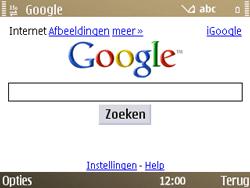 Nokia E72 - Internet - Internetten - Stap 7