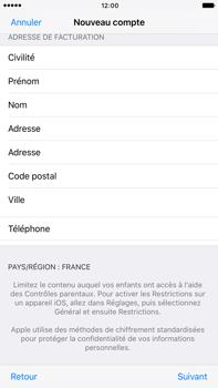 Apple Apple iPhone 6s Plus iOS 10 - Applications - Créer un compte - Étape 23