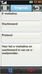 LG GD880 Mini - E-mail - handmatig instellen - Stap 5