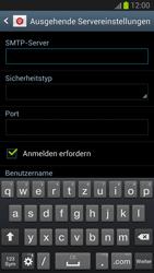 Samsung Galaxy S III - OS 4-1 JB - E-Mail - Konto einrichten - 12 / 19