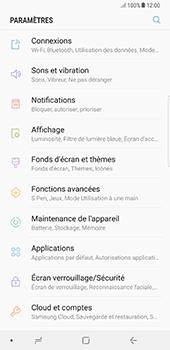 Samsung Galaxy Note 8 - Internet et connexion - Partager votre connexion en Wi-Fi - Étape 4