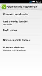 Alcatel One Touch Idol Mini - Internet et roaming de données - Désactivation du roaming de données - Étape 8