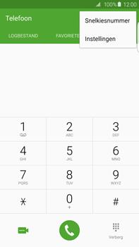Samsung G928F Galaxy S6 Edge + - Voicemail - Handmatig instellen - Stap 5
