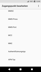 Sony Xperia XZ - MMS - Manuelle Konfiguration - 12 / 26