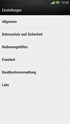 HTC One - Internet und Datenroaming - Manuelle Konfiguration - Schritt 21