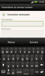 HTC One SV - E-mail - Configuration manuelle - Étape 13
