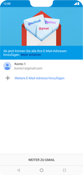 Nokia 6.1 Plus - E-Mail - Konto einrichten (gmail) - 13 / 16