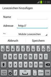 Samsung Galaxy Fame Lite - Internet und Datenroaming - Verwenden des Internets - Schritt 15