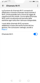 Huawei P20 Pro - Android Pie - WiFi - Attivare WiFi Calling - Fase 9