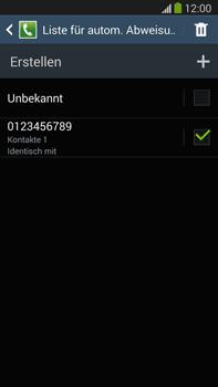 Samsung N9005 Galaxy Note 3 LTE - Anrufe - Anrufe blockieren - Schritt 13