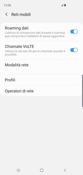 Samsung Galaxy S10 - Internet e roaming dati - Disattivazione del roaming dati - Fase 6