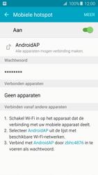 Samsung Galaxy A5 2016 (SM-A510F) - WiFi - Mobiele hotspot instellen - Stap 11