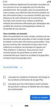 Google Pixel 3a - Applications - Créer un compte - Étape 16