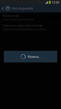 Samsung Galaxy Note III LTE - Rete - Selezione manuale della rete - Fase 7