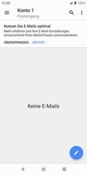 Sony Xperia XZ2 - Android Pie - E-Mail - Konto einrichten (outlook) - Schritt 5