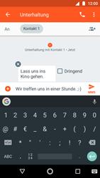 Motorola Moto G5s - MMS - Erstellen und senden - 12 / 23
