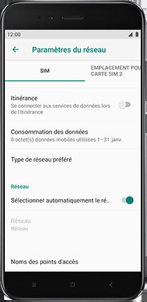 Xiaomi Redmi S2 - Internet - Configuration manuelle - Étape 8