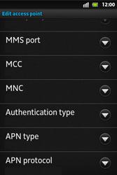 Sony ST27i Xperia Go - MMS - Manual configuration - Step 14